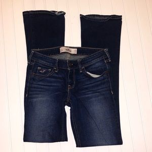 Hollister Dark Wash Boyfriend Jeans